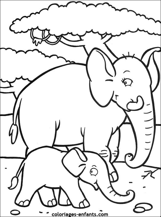 1000+ Images About Elmer On Pinterest concernant Coloriage Enfant Gratuit