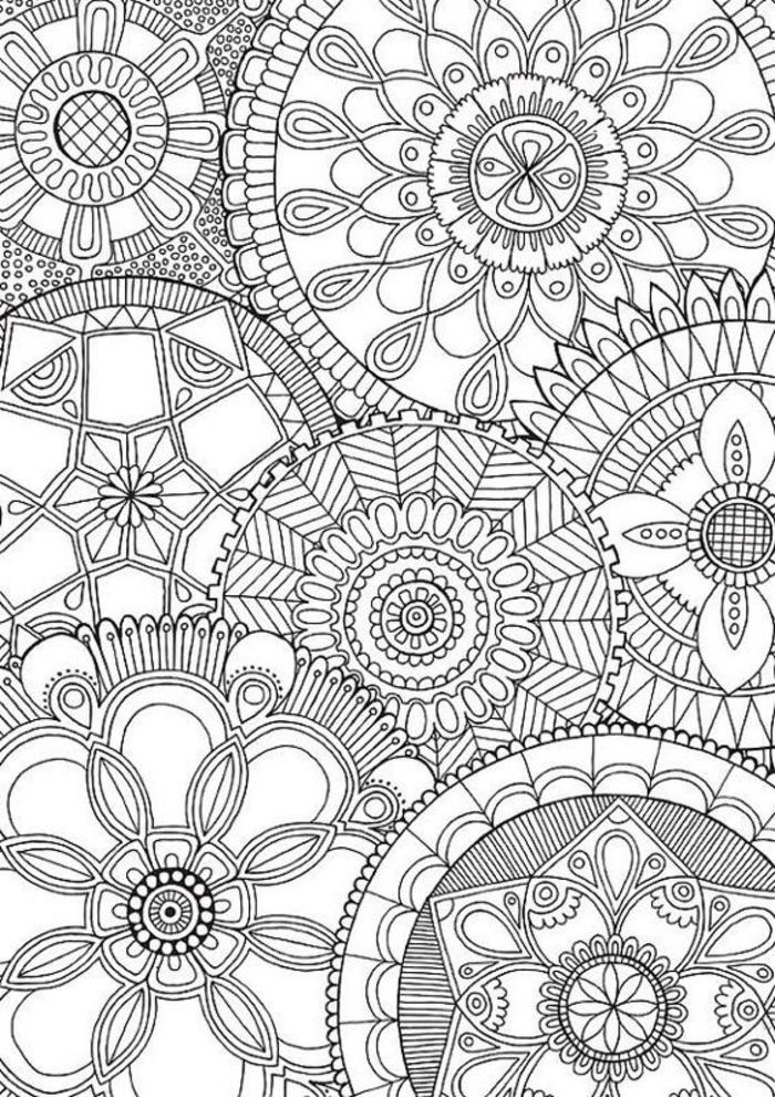 1001+ Dessins De Mandala À Imprimer Et À Colorer dedans Coloriage Mandala Adulte A Imprimer