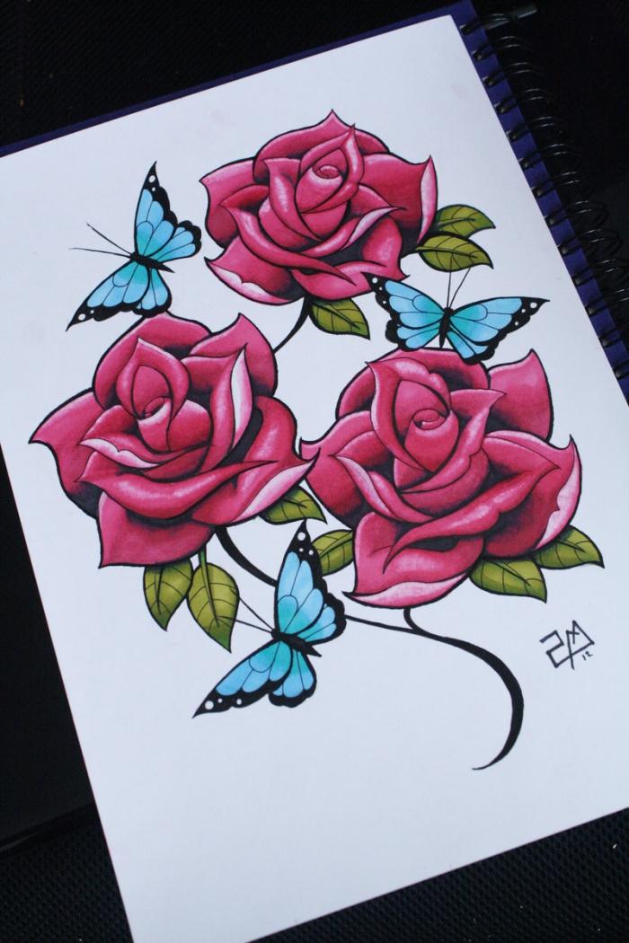 1001 + Modèles Et Conseils Pour Apprendre Comment Dessiner destiné Dessin De Fleure