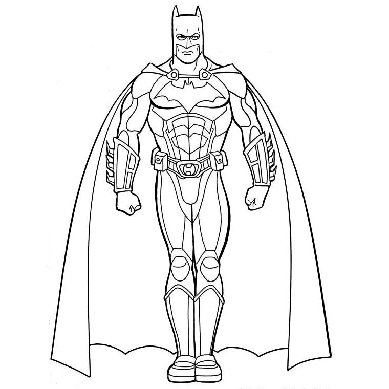 103 Dessins De Coloriage Batman À Imprimer encequiconcerne Coloriage Batman A Imprimer