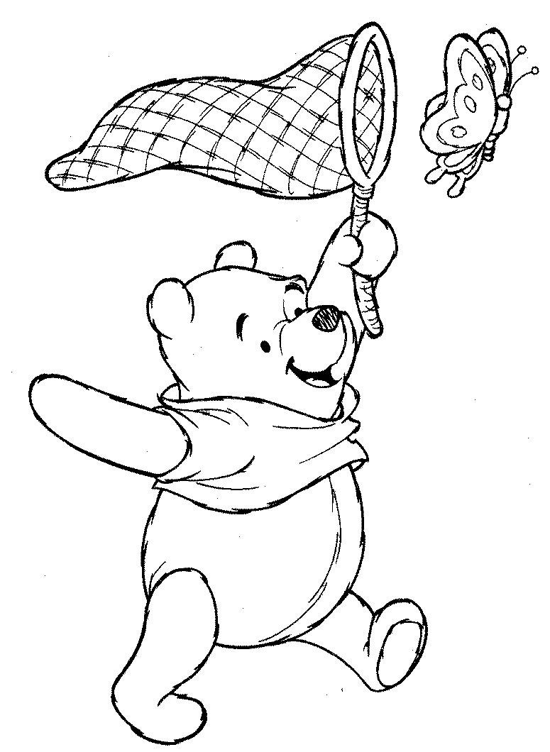 103 Dibujos De Winnie The Pooh Para Colorear | Oh Kids avec Coloriage D Ourson A Imprimer