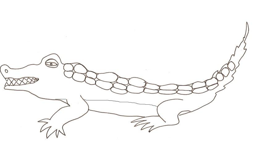 106 Dessins De Coloriage Crocodile À Imprimer Sur dedans Coloriage Crocodile A Imprimer Gratuit