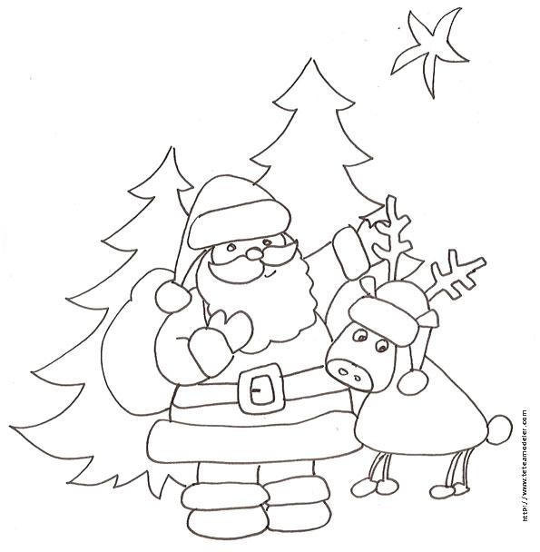 11 Idéal Nom Des Rennes Du Père Noel Pics | Coloriage pour Nom Des Rennes Du Pere Noel