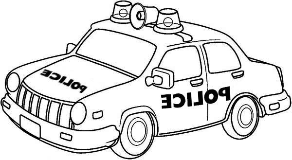 11 Luxe De Coloriage De Voiture De Police Photos pour Coloriage Voiture De Police