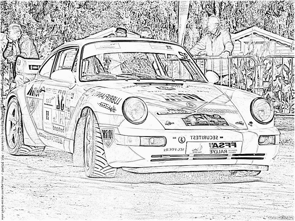 11 Utile Coloriage Porsche Pictures | Dessin Voiture avec Coloriage Porsche A Imprimer