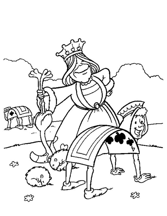 119 Dessins De Coloriage Alice Au Pays Des Merveilles À destiné Des Coloriage