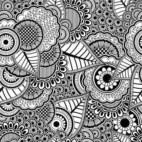 12 Coloriages Anti Stress À Imprimer   Coloriage Anti avec Coloriage Avec Chiffre A Imprimer