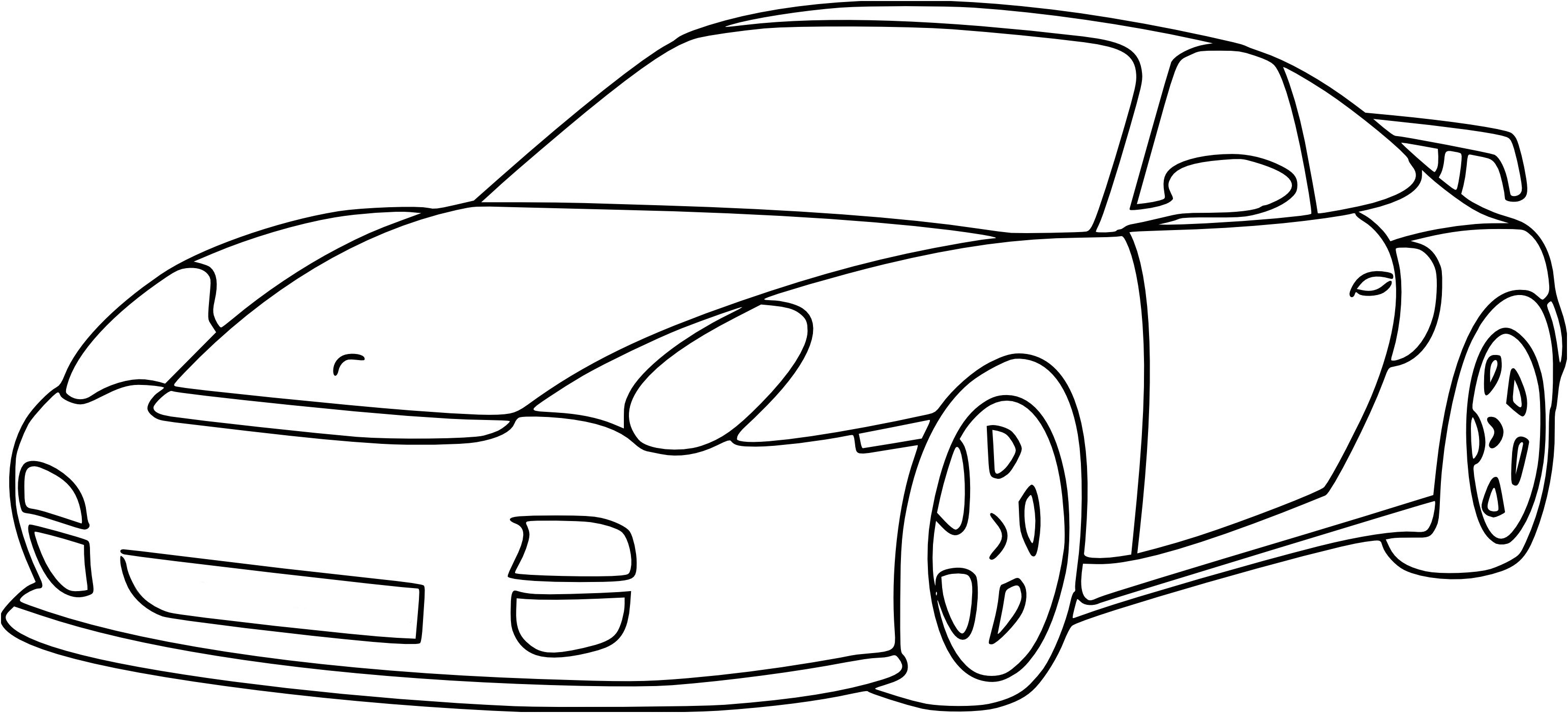 Coloriage Voiture Fast And Furious - GreatestColoringBook.com