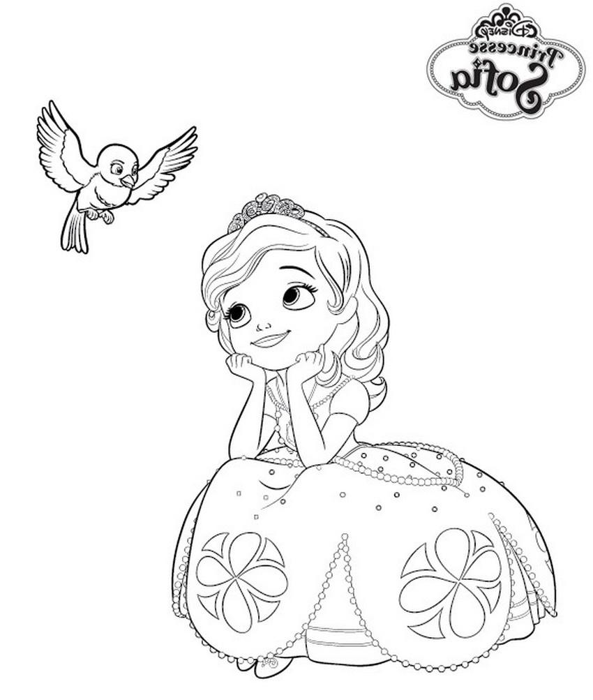 12 Inspirant De Coloriage Princesse Sofia Image encequiconcerne Dessin Animé Princesse Sofia