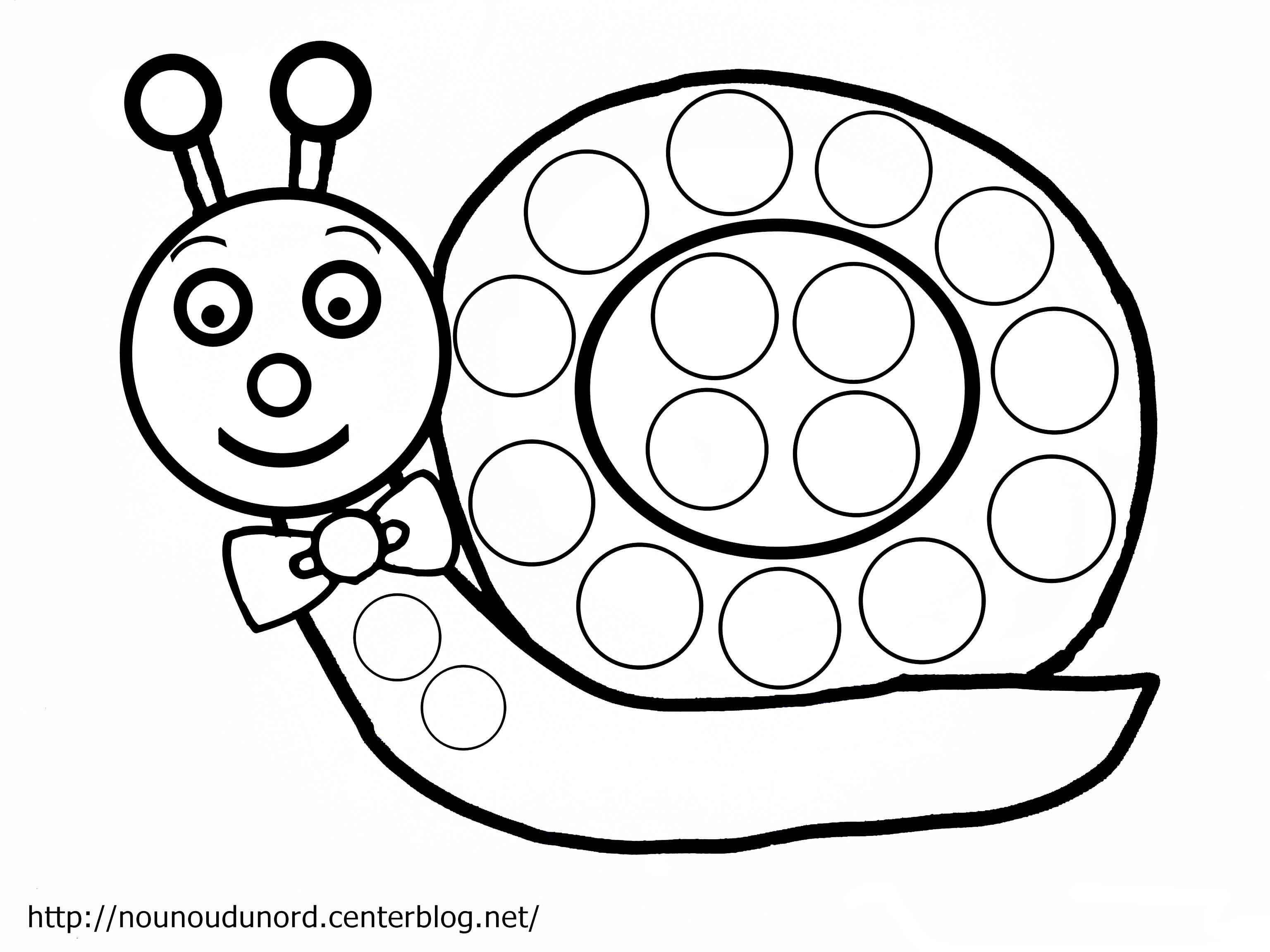 120 Dessins De Coloriage Escargot À Imprimer à Coloriage Hugo L'Escargot