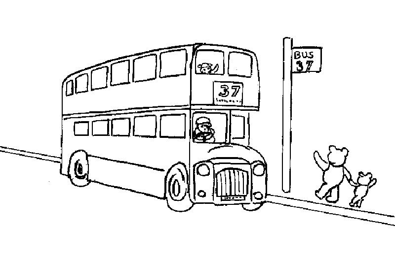 124 Dessins De Coloriage Autobus À Imprimer pour Coloriage Londres À Imprimer