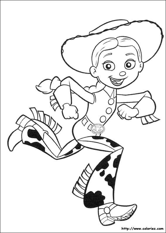 124 Dessins De Coloriage Toy Story À Imprimer tout Dessin Toy Story 3