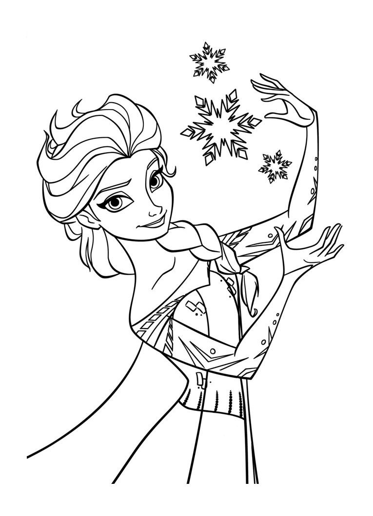 128 Dessins De Coloriage La Reine Des Neiges À Imprimer à Dessin A Imprimer Reine Des Neiges