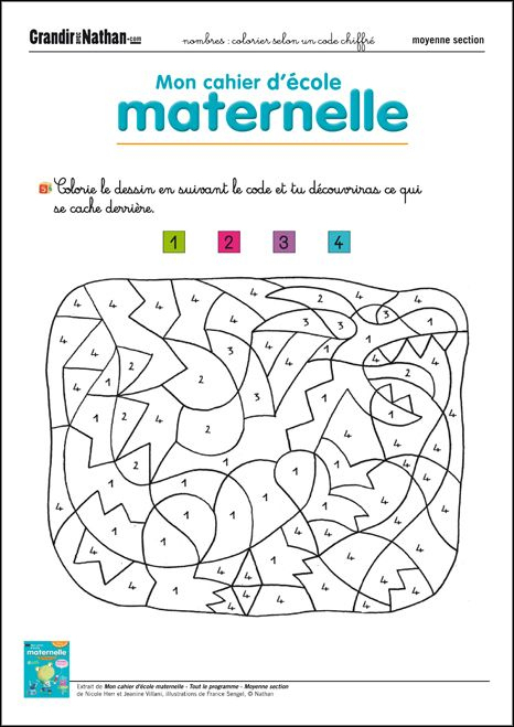 13 Best Coloriage Images On Pinterest | Art Activities tout Coloriage Magique Grande Section Maternelle
