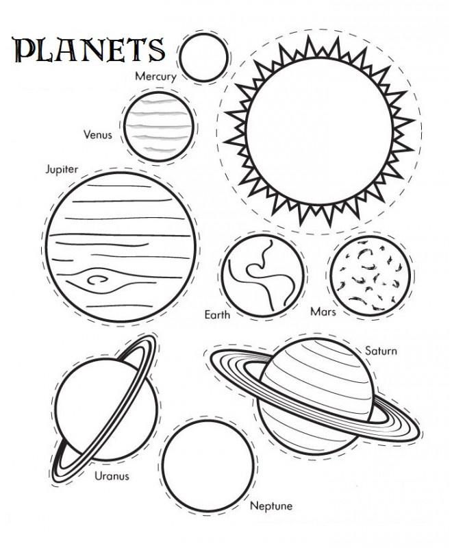 13 Complexe Coloriage Planete Images | Coloriage avec Systeme Solaire Dessin