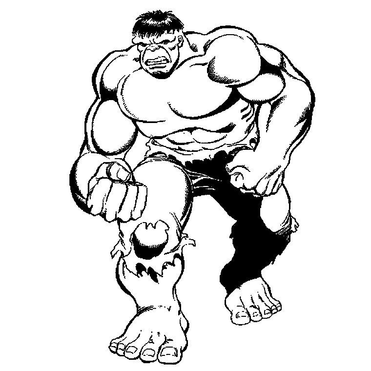 14 Dessins De Coloriage Hulk Gratuit À Imprimer destiné Coloriage Hulk A Imprimer Gratuit