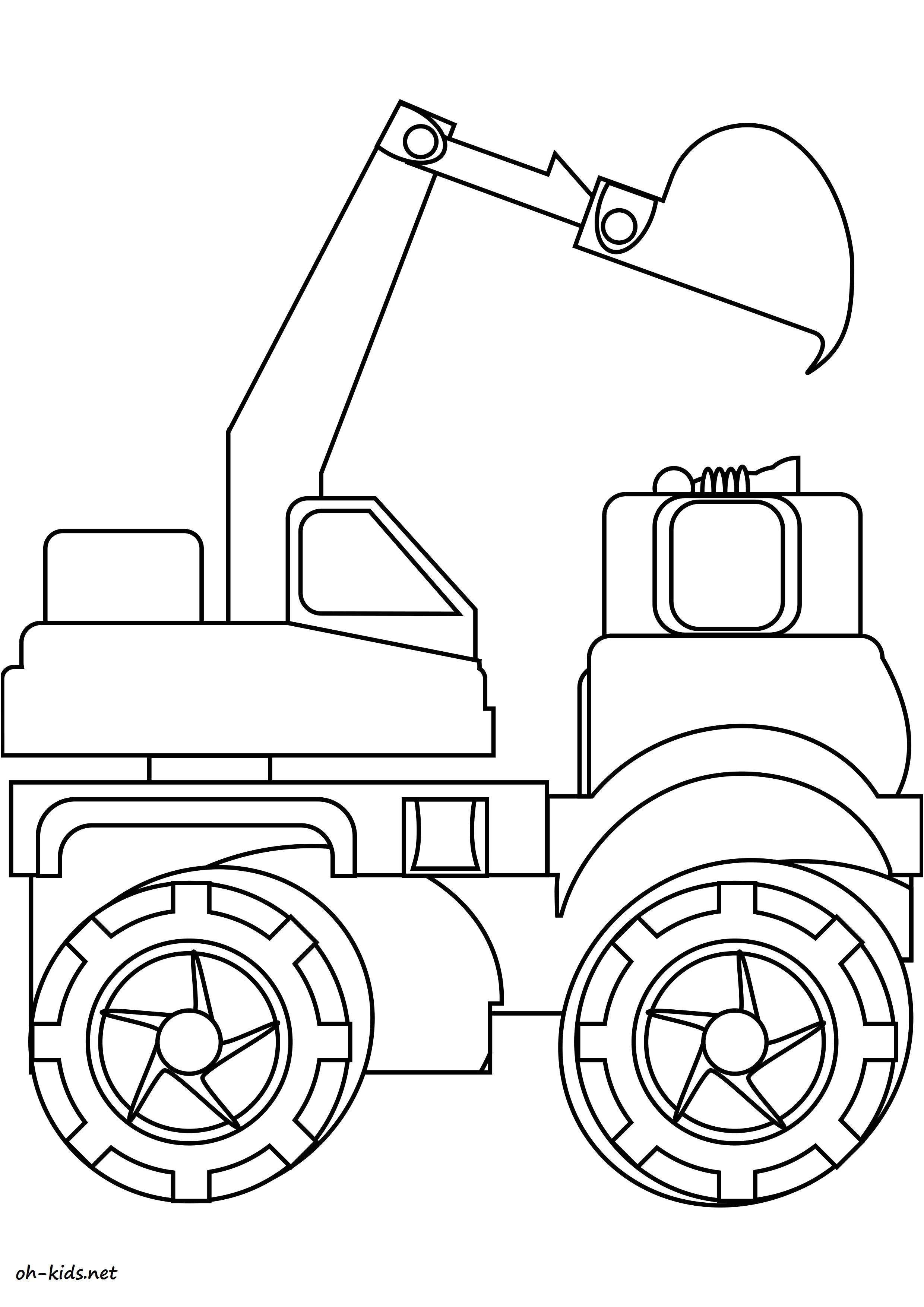 14 Largement Coloriage Tracteur Remorque Photos - Coloriage tout Dessin De Tracteur A Colorier