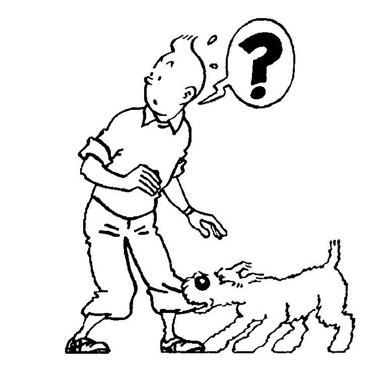 14 Remarquable Coloriage Tintin Collection | Coloriage destiné Coloriage Tintin Et Milou