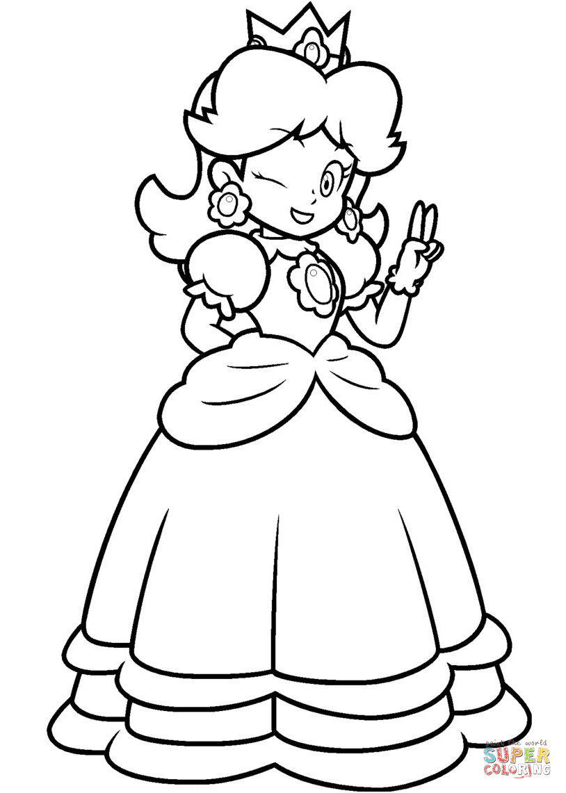 14 Unique Coloriage Mario Photos | Coloriage à Coloriage Mario