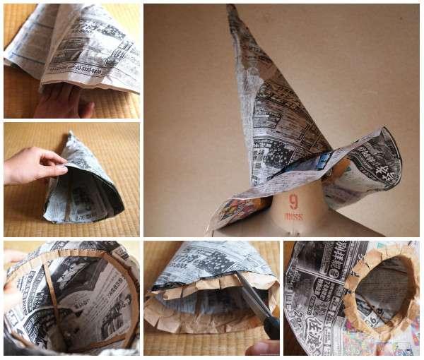 140 Ideas For Recycling Newspaper (Or General Paper tout Objets En Papier Maché
