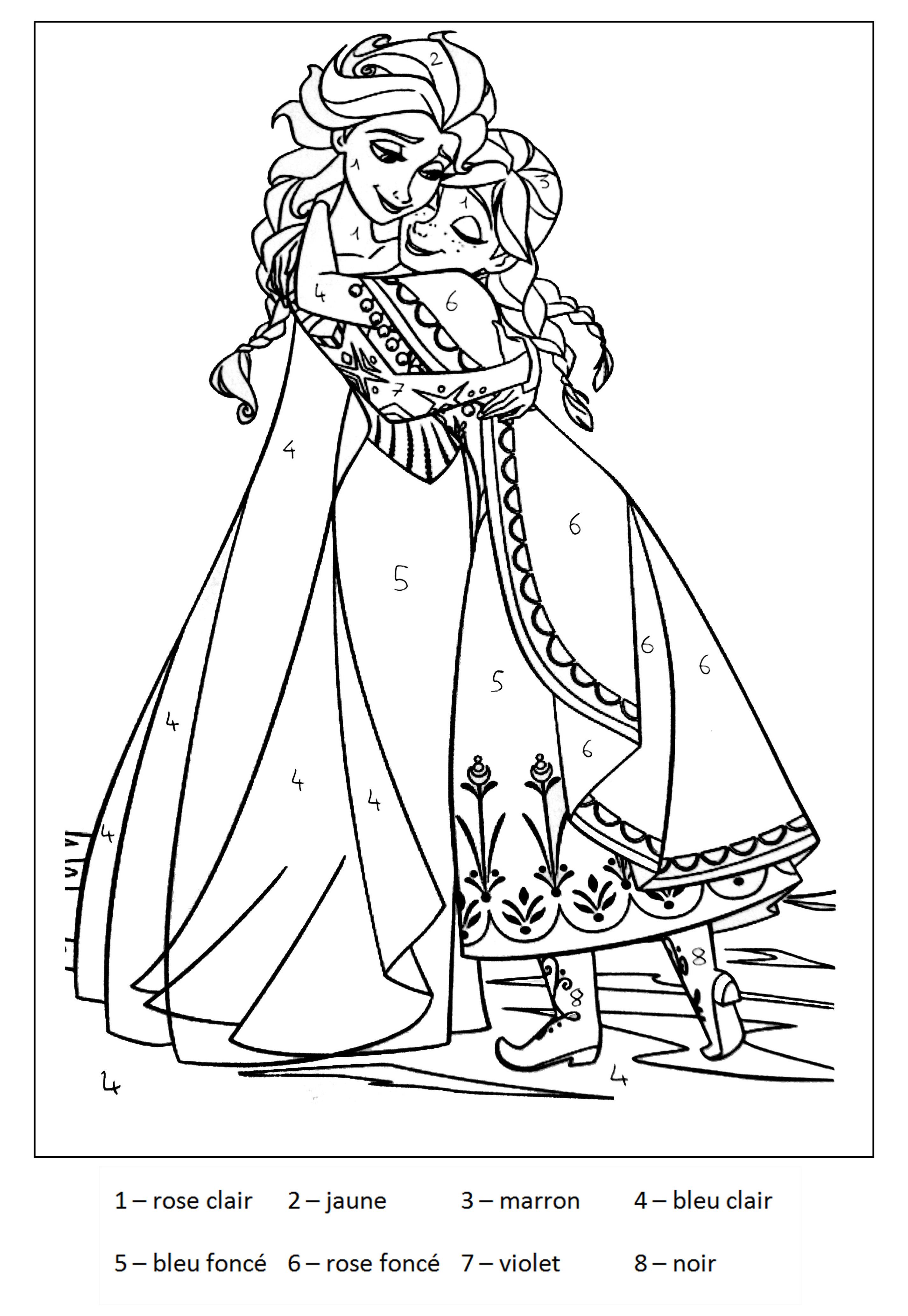 144 Dessins De Coloriage Reine Des Neiges À Imprimer Sur à Dessin A Imprimer Reine Des Neiges