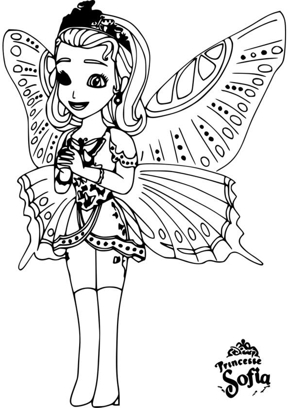 146 Dessins De Coloriage Princesse À Imprimer intérieur Dessin Animé Princesse Sofia