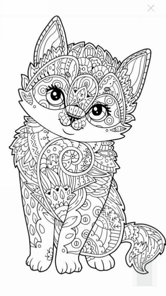 1487 Best Coloriages Images On Pinterest | Coloring Books intérieur Coloriage À Imprimer Animaux