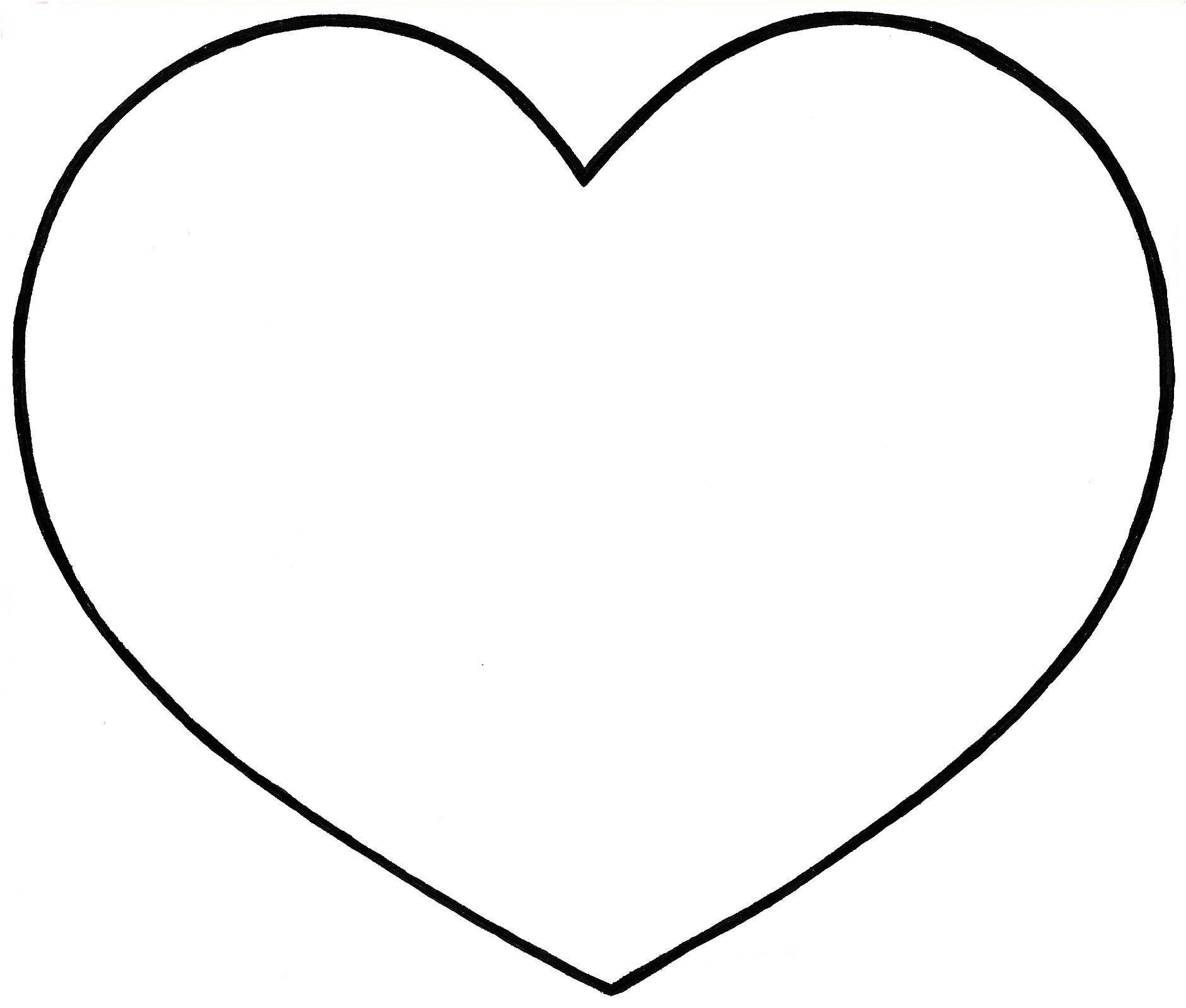 15 Adorable Modèle De Coeur À Découper Gallery | Dessin De concernant Dessin A Decouper Gratuit