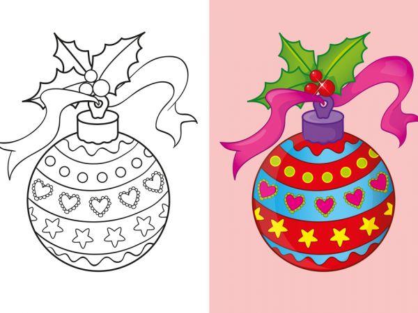 15 Coloriages De Noël Avec Modèle destiné Coloriage Avec Modèle À Imprimer