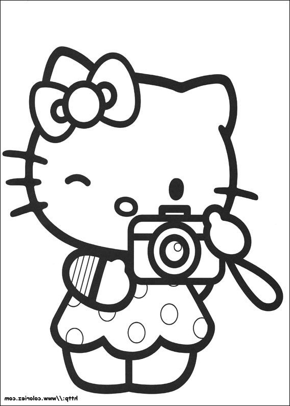 15 Cool De Coloriage Hello Kitty Coeur Images | Coloriage encequiconcerne Coloriage Hello Kitty Coeur