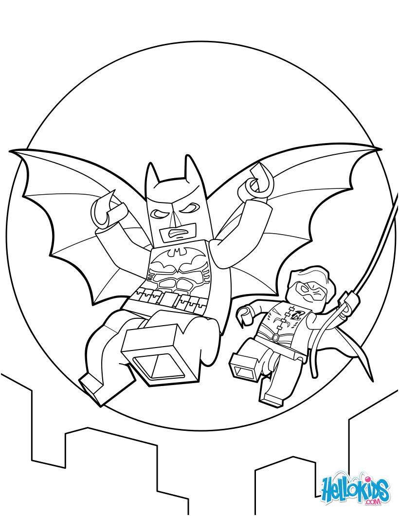 15 Fantastique Coloriage Lego Batman Pics - Coloriage concernant Coloriage Batman A Imprimer