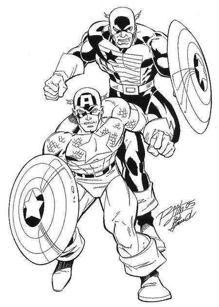 156 Dessins De Coloriage Captain America À Imprimer Sur encequiconcerne Coloriage Captain America