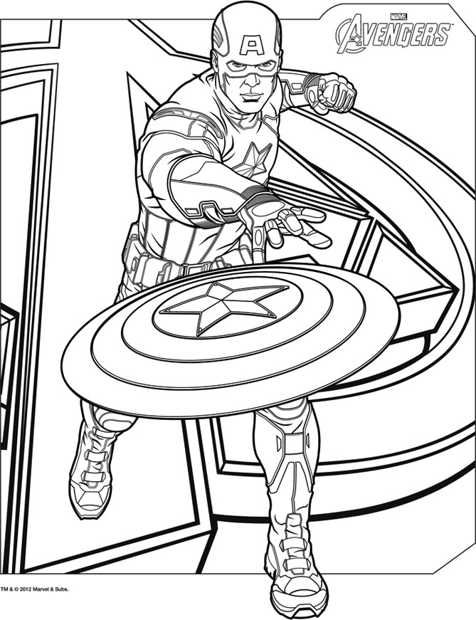 160 Dessins De Coloriage Avengers À Imprimer Sur Laguerche à Coloriage Avangers