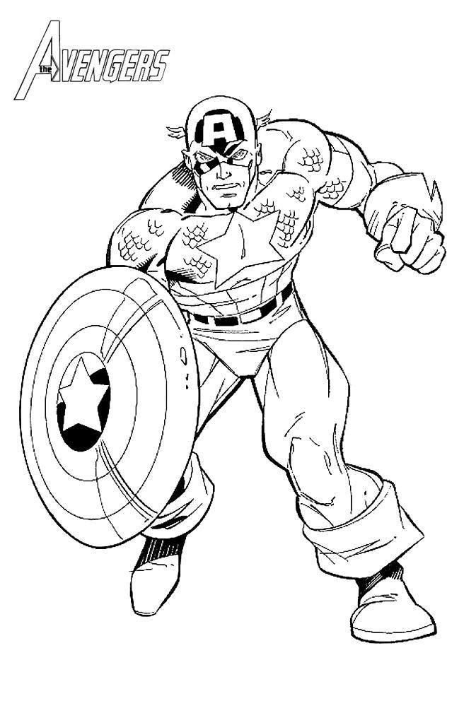 160 Dessins De Coloriage Avengers À Imprimer Sur Laguerche encequiconcerne Dessin Des Avengers