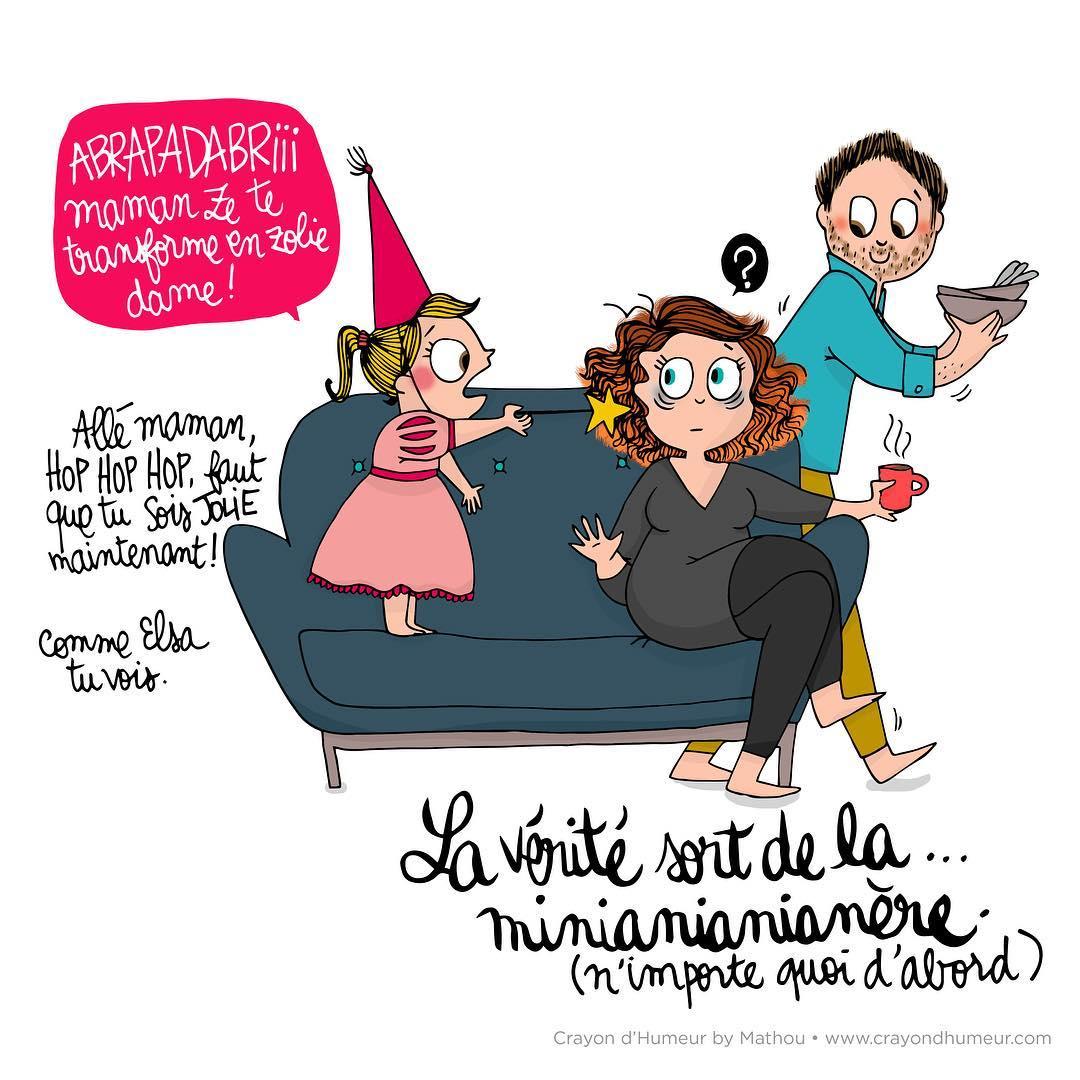18 Adorables Dessins Qui Illustrent Avec Humour La encequiconcerne Dessin Pour Les Maman