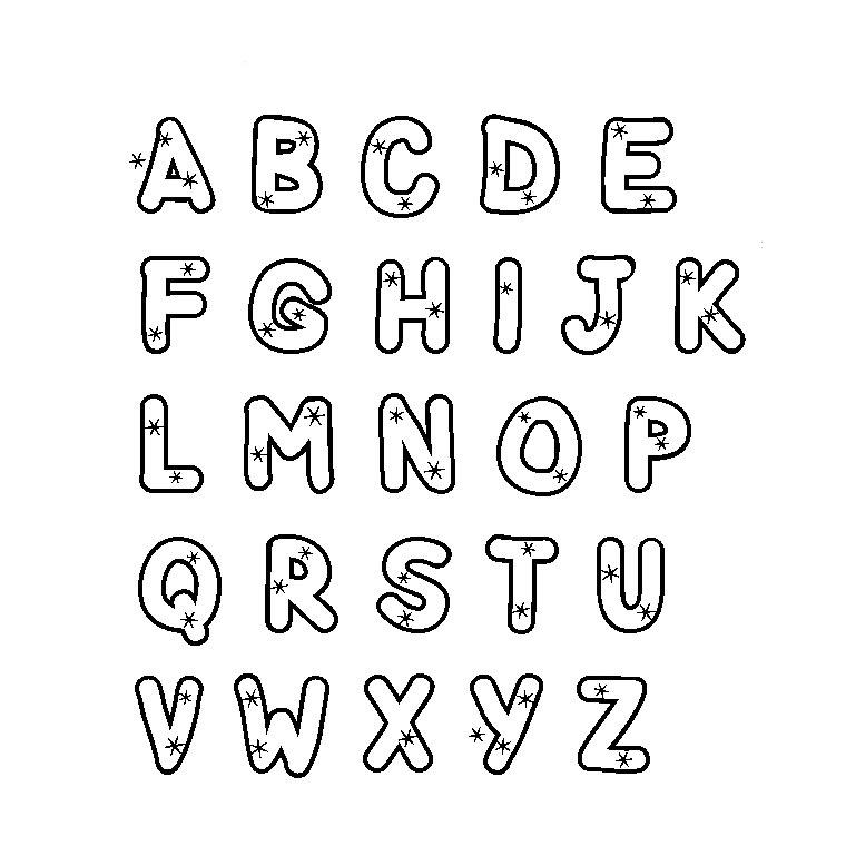 18 Dessins De Coloriage Alphabet Cp À Imprimer à Coloriage Alphabet Complet A Imprimer
