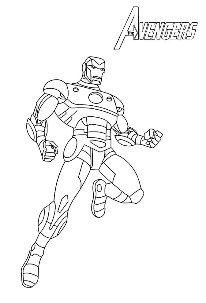 18 Dessins De Coloriage Avengers À Imprimer Gratuit À Imprimer avec Dessin Des Avengers