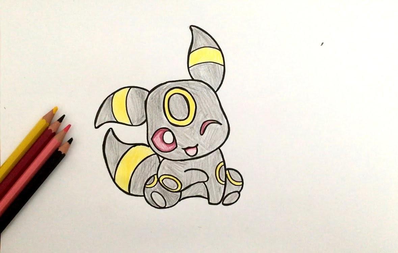 18 Luxe Dessin Pokemon Deja Colorier pour Noctali Pokemone Coloriage