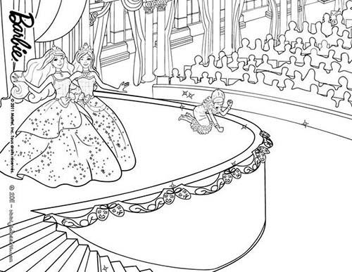 19 Dessins De Coloriage Barbie Apprentie Princesse À Imprimer intérieur Coloriage De Barbie Apprentie Princesse