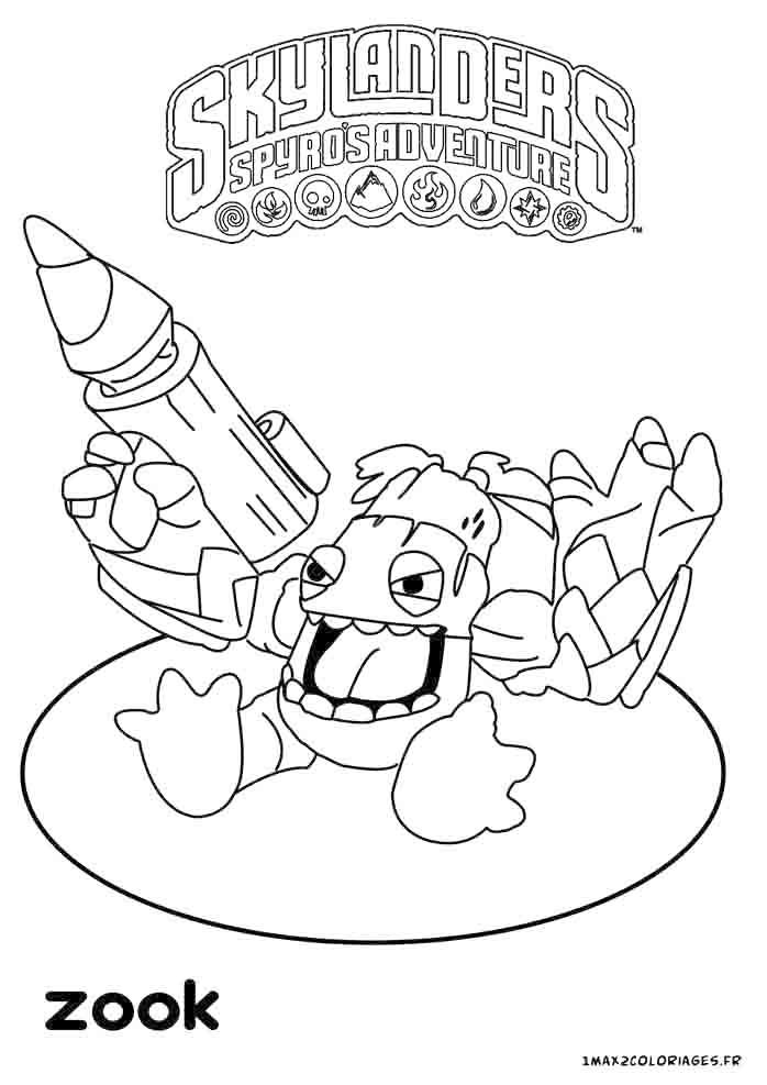 19 Dessins De Coloriage Skylanders Trap Team Feu À Imprimer destiné Coloriage Skylanders Trap Team A Imprimer Gratuit
