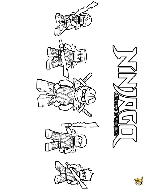 19 Dessins De Coloriage Véhicule Ninjago À Imprimer serapportantà Coloriage Ninjago Lloyd A Imprimer