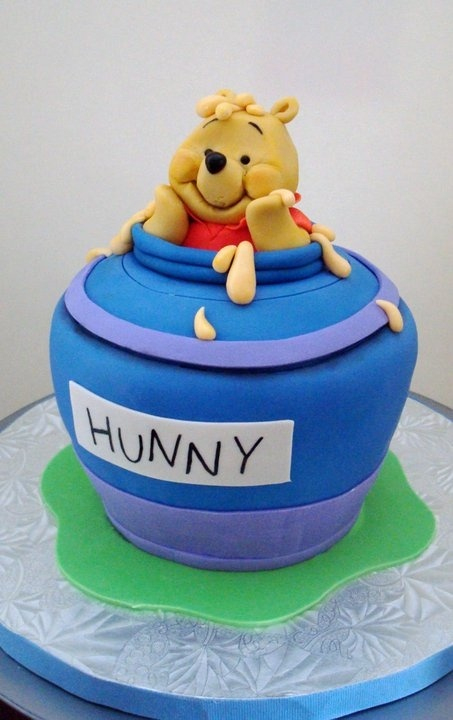 198 Best Winnie The Pooh Cakes Images On Pinterest | Conch à Pooh Gateau