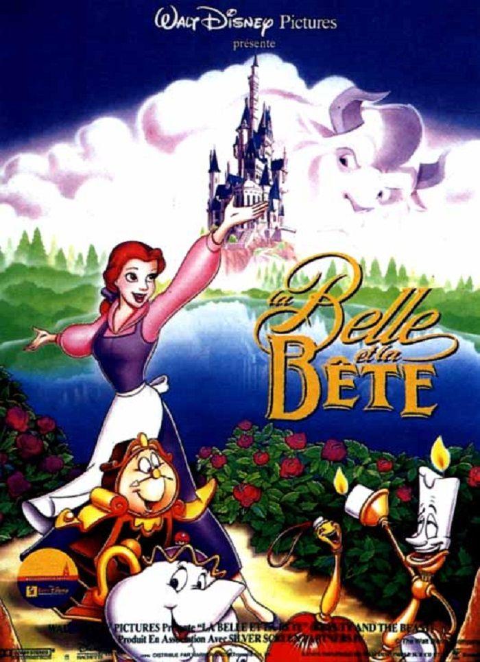 1992 La Belle Et La Bete | Walt Disney Pictures, La Belle avec Dessin Animé Walt Disney Gratuit