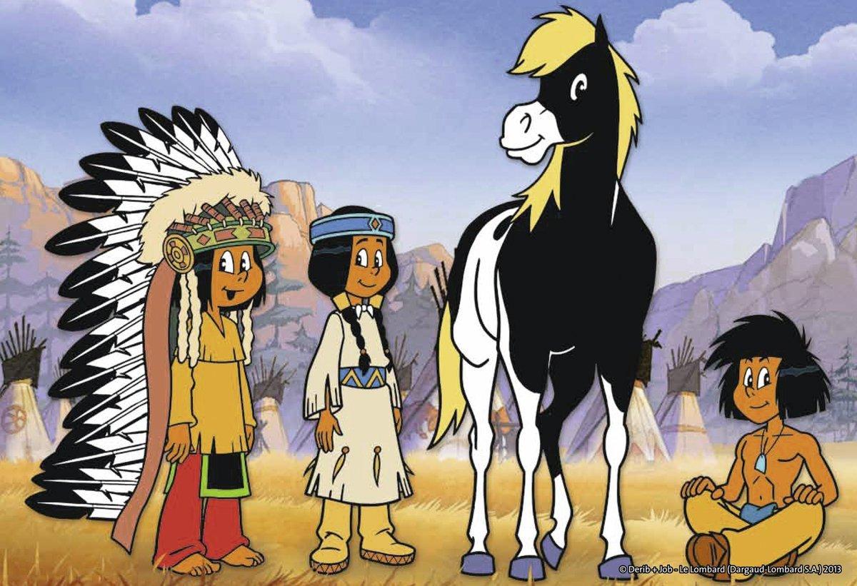 2 Puzzles - Yakari, Le Petit Indien Ravensburger-07559 12 à Yakari Dessin Animé Gratuit