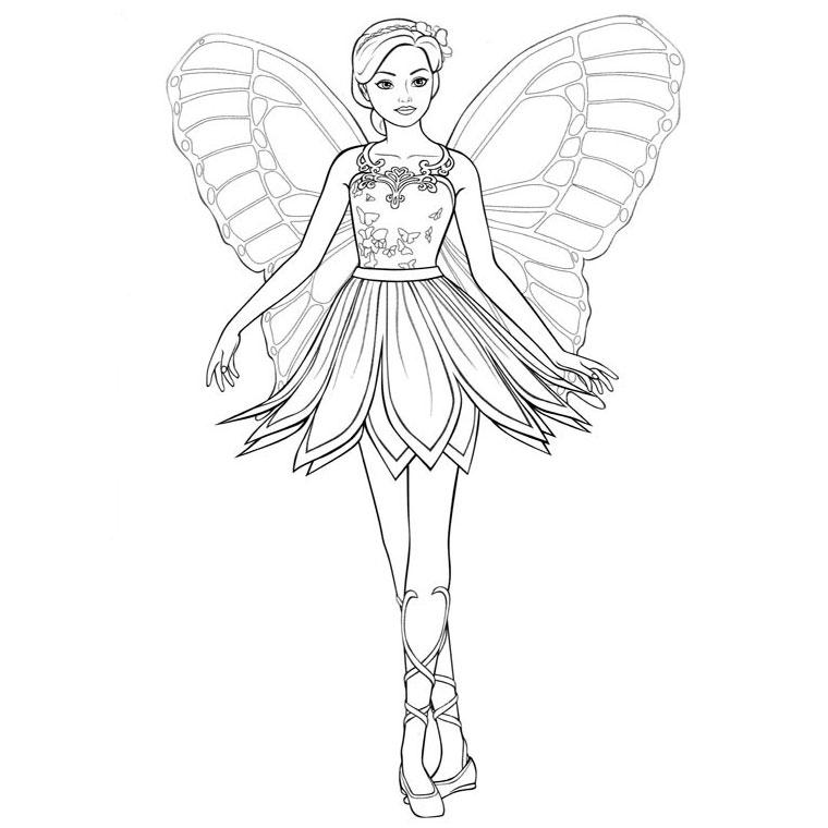 20 Dessins De Coloriage Barbie Danseuse Étoile À Imprimer tout Coloriage Danseuse Étoile