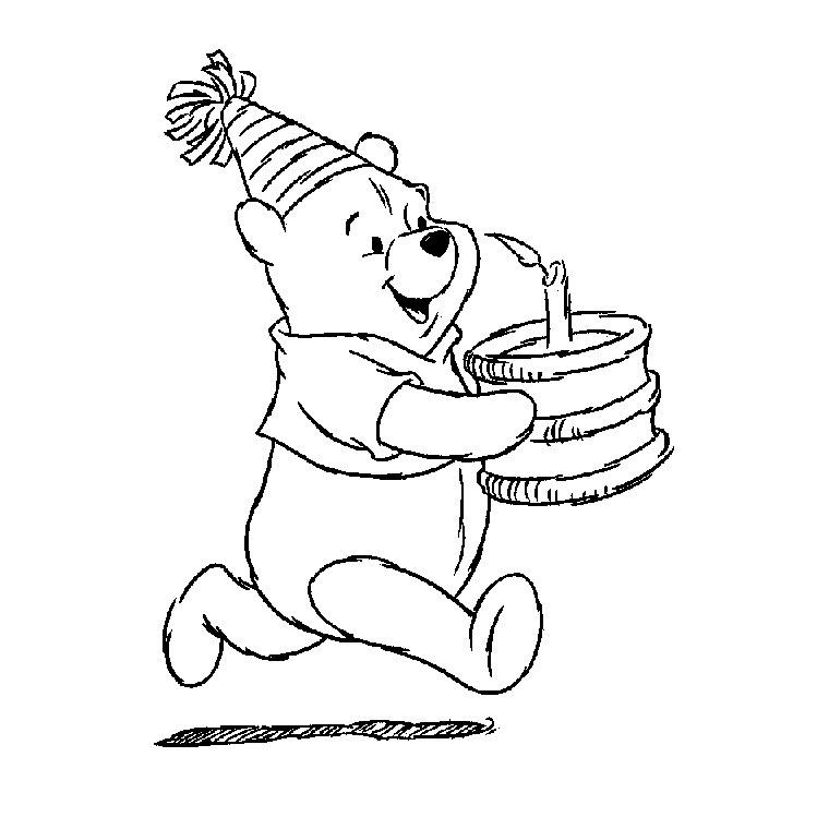20 Dessins De Coloriage Winnie L'Ourson À Imprimer Gratuit pour Coloriage Winnie L Ourson À Imprimer