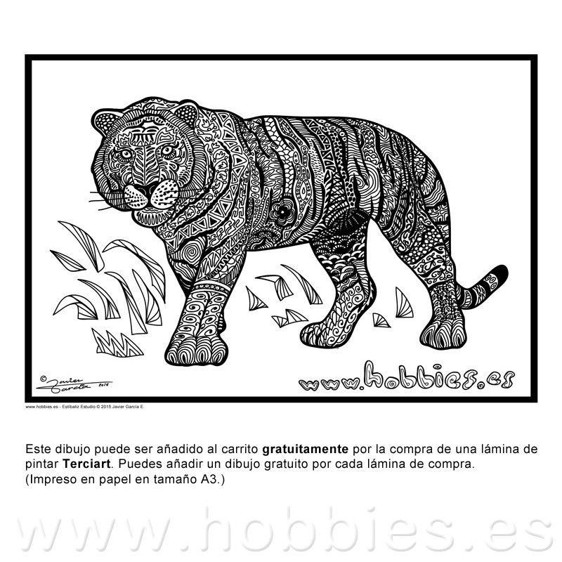2018 】 🤙 Imagenes De Tigres - Imagenes De Tigres Hipster destiné Mandalas De Tigres