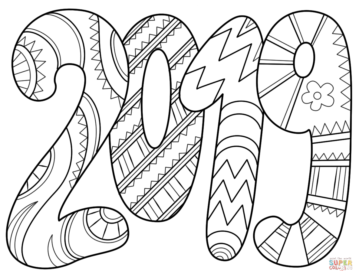 2019 Coloring Page | Free Printable Coloring Pages à Happy Color Coloriage