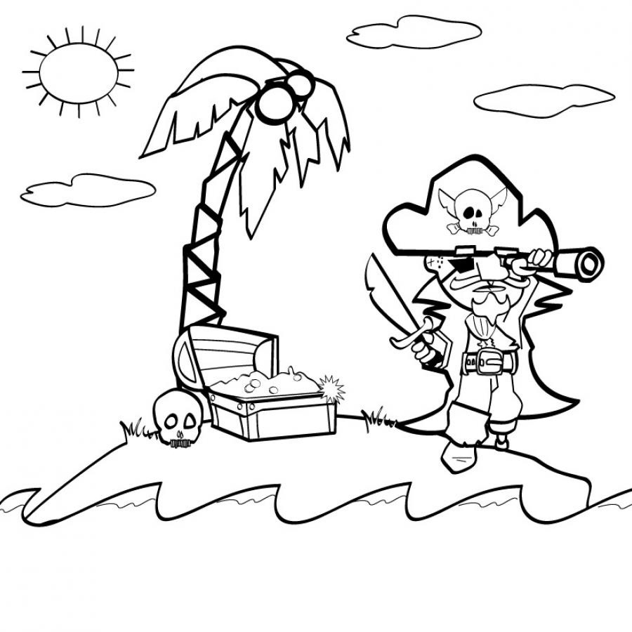 209 Dessins De Coloriage Pirate À Imprimer Sur Laguerche concernant Dessin De Pirate À Imprimer