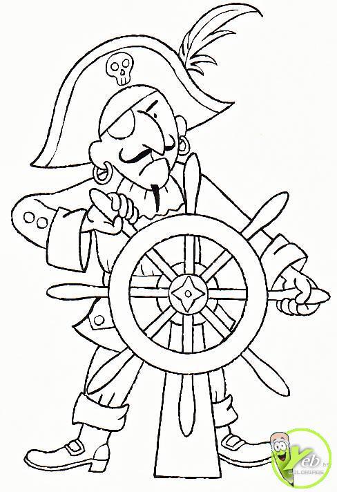 209 Dessins De Coloriage Pirate À Imprimer Sur Laguerche concernant Drapeau Pirate Coloriage